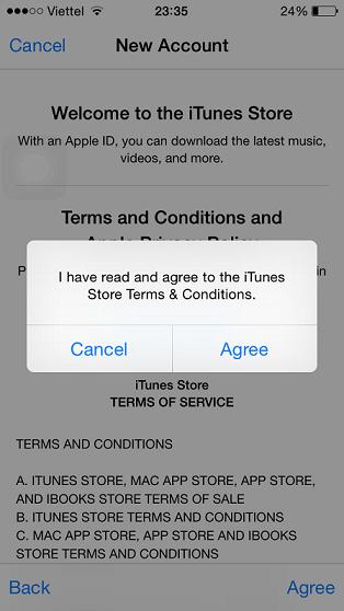 Hướng dẫn tạo Apple  ID US miễn phí trên iDevices