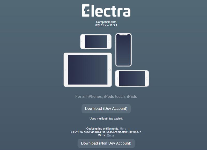 CoolStar chính thức phát hành bản cập nhật Electra mới, hỗ trợ jailbreak iOS 11.2 đến 11.3.1