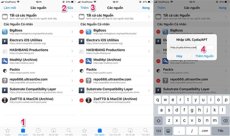 Phần 2: Tổng hợp các tinh chỉnh tương thích với bản cập nhật Electra Jailbreak iOS 11.2 - 11.3.1