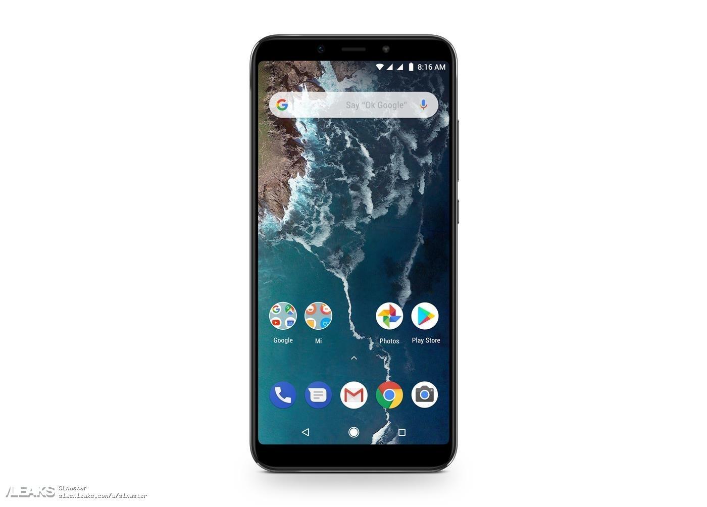 Mi A2 và Mi A2 Lite lộ hình ảnh và thông số kỹ thuật: Máy chạy Android One, camera kép, riêng Mi A2 có tai thỏ