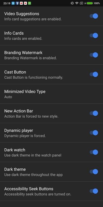 YouTube Vanced phát hành bản cập nhật mới, sửa lỗi thêm tài khoản Google và trình phát video