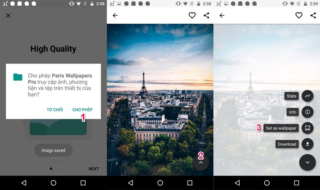 Chia sẻ gói ứng dụng download ảnh nền từ Motion Wallpapers đang miễn phí trong thời gian ngắn, trị giá 155.000 VNĐ