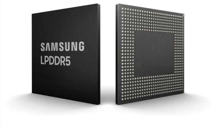 Samsung ra mắt chip nhớ DRAM LPDDR5 8GB đầu tiên cho smartphone
