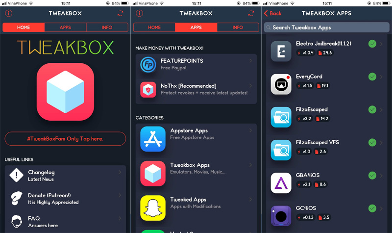 Đã có bản cập nhật đầy đủ của ứng dụng FilzaEscaped dành cho iOS 11.2 - 11.3.1 không cần jailbreak