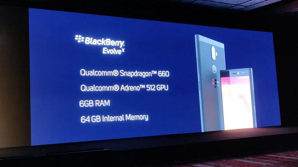 tenovi net - BlackBerry Evolve và Evolve X chính thức ra mắt tại thị