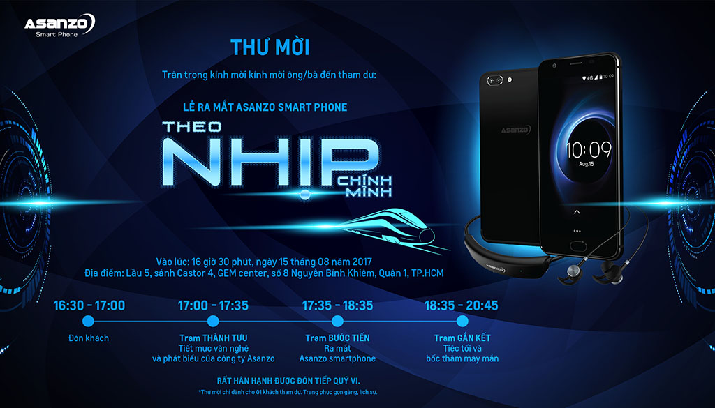 Thương hiệu Việt Asanzo sẽ ra mắt smartphone mới vào ngày 15/08, đây mới gọi là