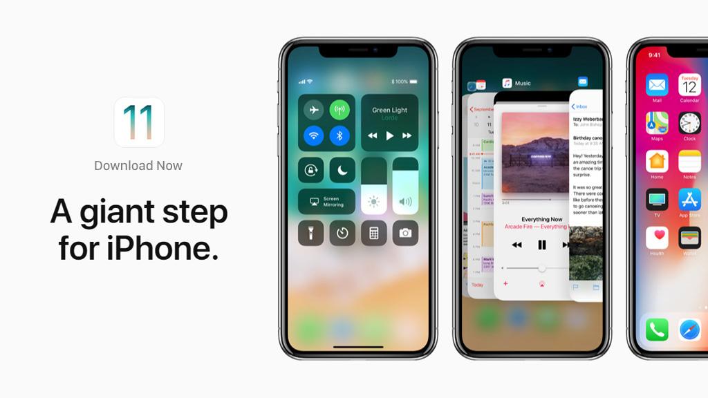 Link firmware phiên bản iOS 11 chính chủ Apple, mời anh em tải về