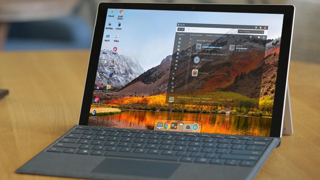 Hướng dẫn cài đặt theme macOS High Sierra tuyệt đẹp cho Windows 10