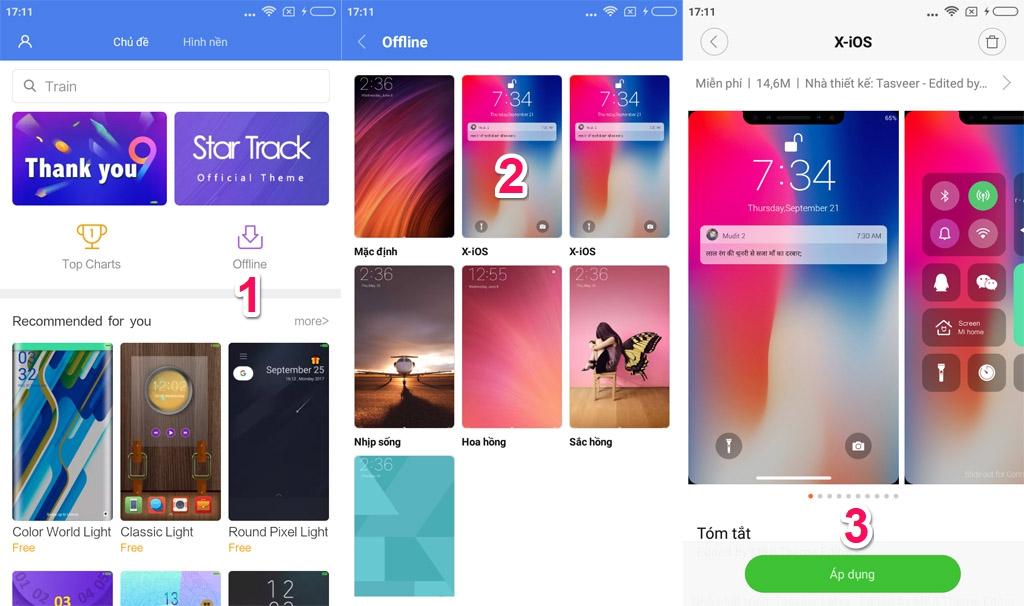 tenovi net - Chia sẻ gói theme được thiết kế theo phong cách iPhone