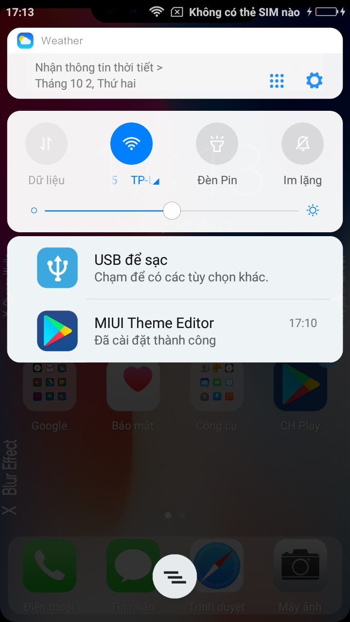 Iphone Theme For Xiaomi