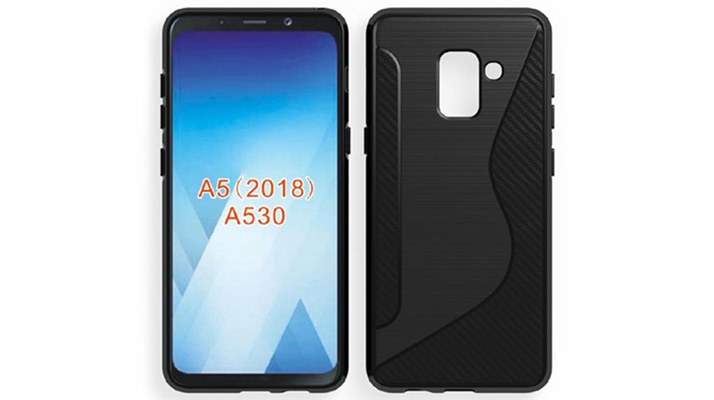 Galaxy A5 (2018) tiếp tục bị rò rỉ thiết kế qua ốp lưng: giống S8 nhưng thiếu đi