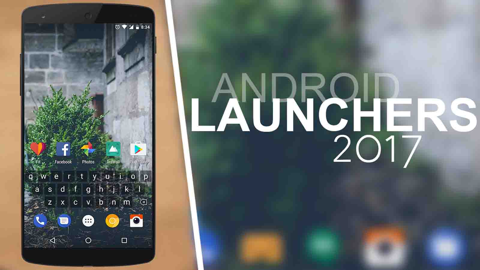 Tổng hợp 9 ứng dụng launcher Android tốt nhất năm 2017