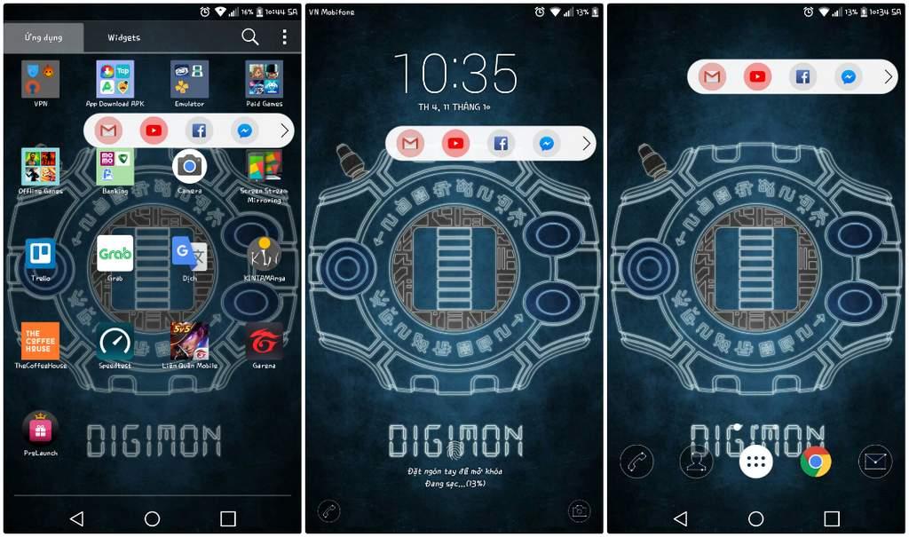 Ứng dụng cho phép mang Floating Bar độc quyền của LG V30 lên bất kỳ thiết bị Android nào
