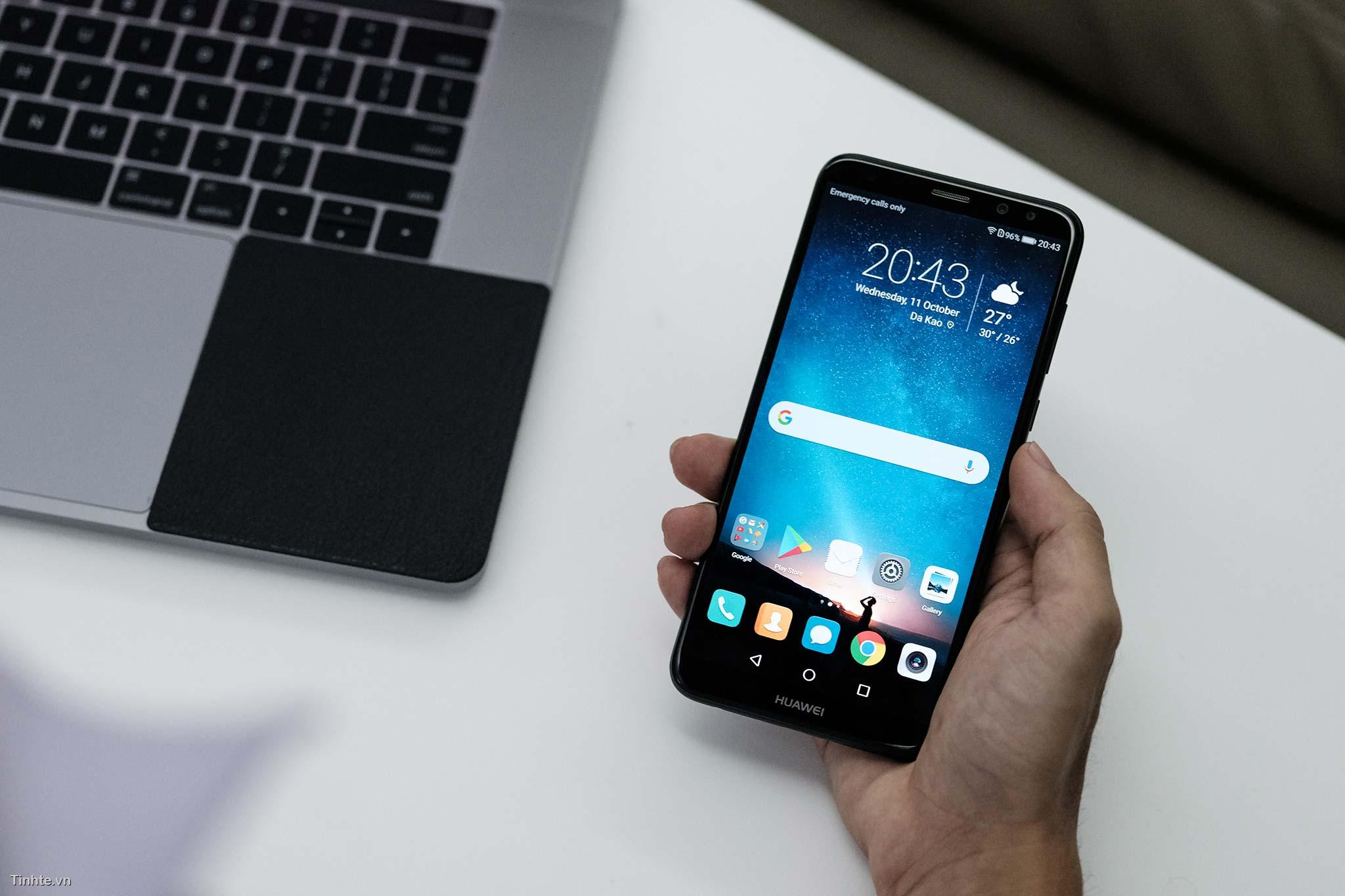 Trên tay Huawei nova 2i: điện thoại viền siêu mỏng, 4 camera giá chỉ 6 triệu