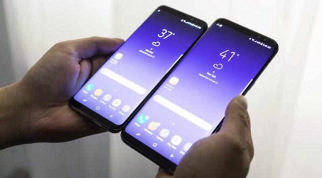 Bộ đôi Galaxy S8/S8+ cũng sở hữu màn hình vô cực đầy ấn tượng.