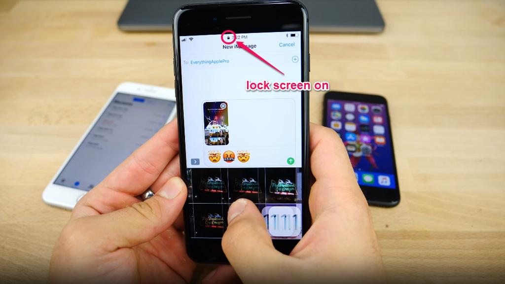 Lỗ hổng trên iOS 11 cho phép mở thư viện ảnh ngay cả khi thiết bị đang ở trạng thái màn hình khóa