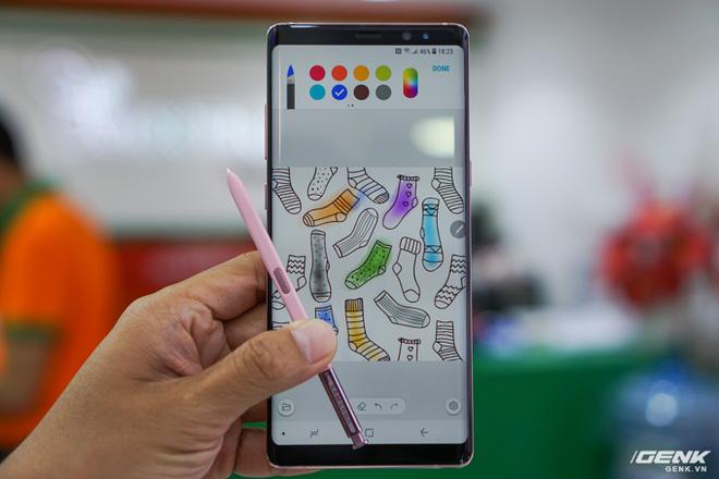 Nói đến Note8 không thể không nhắc đến S Pen cùng nhiều tính  năng thú vị,