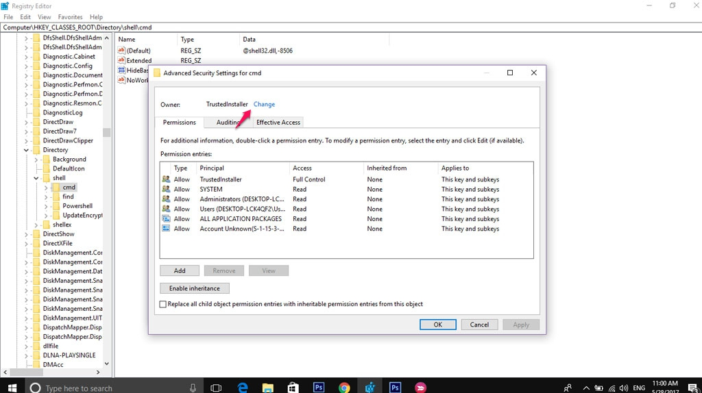Hướng dẫn thêm Command Prompt vào tùy chọn chuột phải trên Windows 10