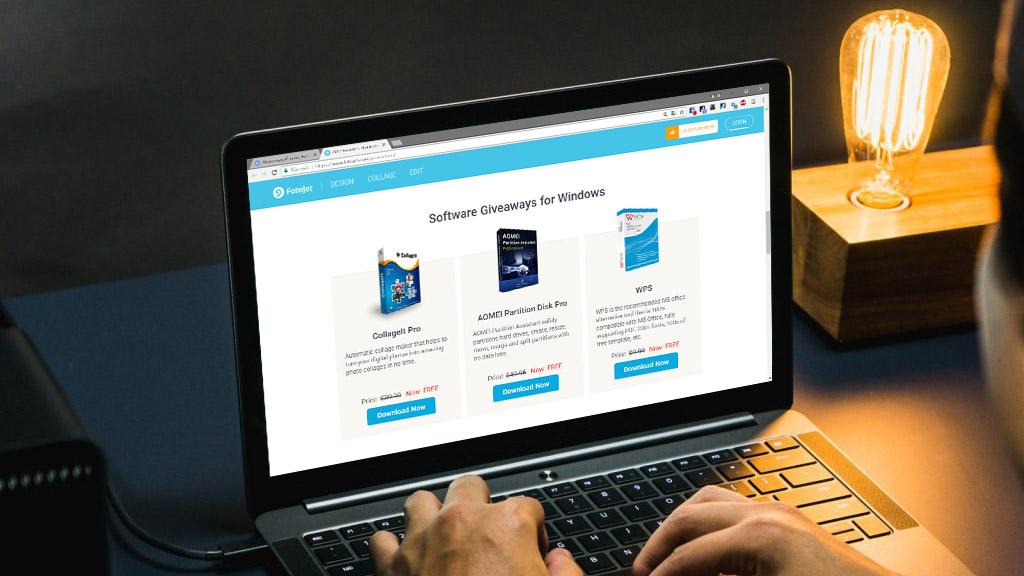 Nhân ngày lễ Tạ Ơn, Fotojet tặng gói phần mềm bản quyền dành cho Windows và Mac trị giá 315 USD