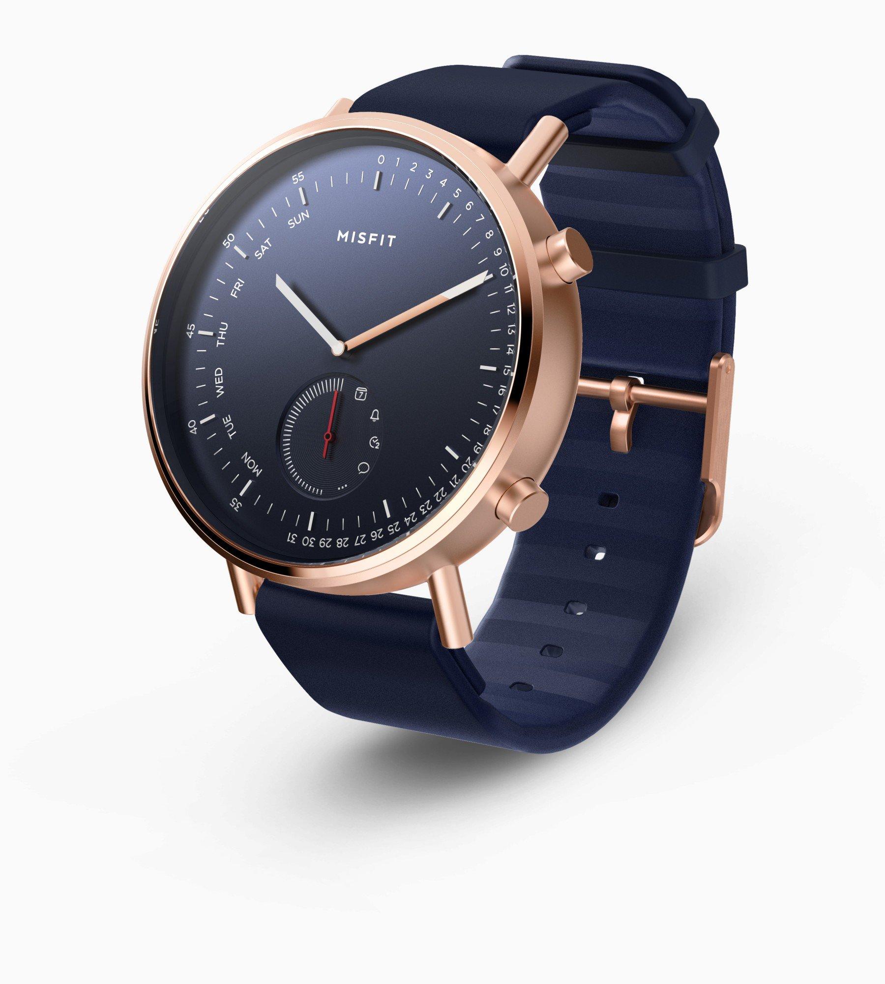 Misfit Command là đồng hồ lai có thể theo dõi sức khỏe và nhận thông báo, giá 149 USD