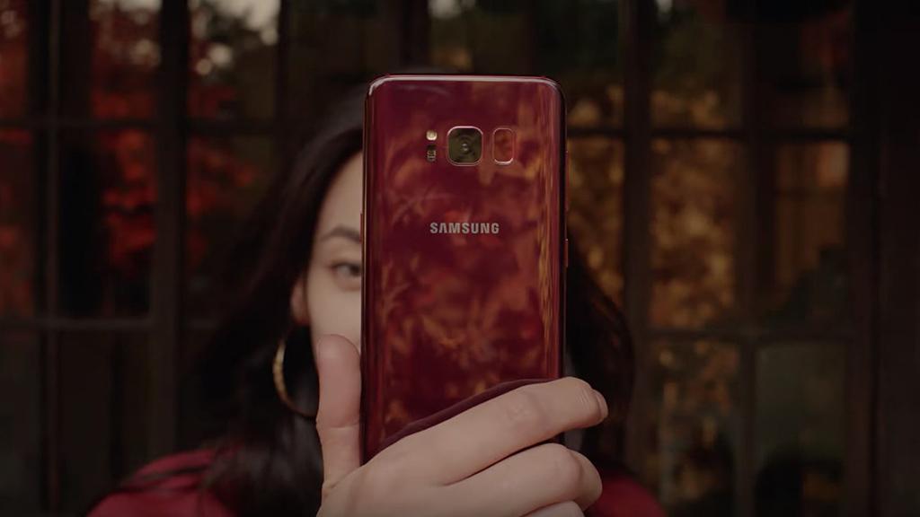 Galaxy S8 phiên bản màu Đỏ Burgundy sẽ chính thức được bán ra vào tuần tới