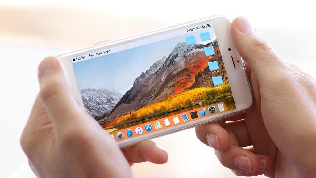 Hướng dẫn giả lập hệ giao diện MacOS trên iPhone, iPad và iPod touch mà không cần jailbreak