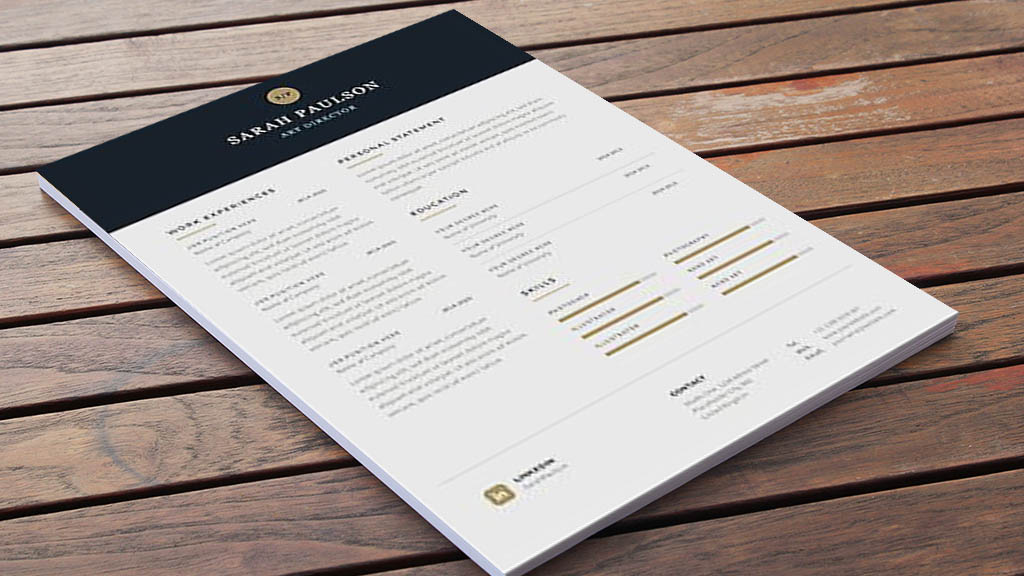 Chia sẻ một số template mẫu Word/PSD thiết kế Resume và CV xin việc làm chuyên nghiệp và sáng tạo