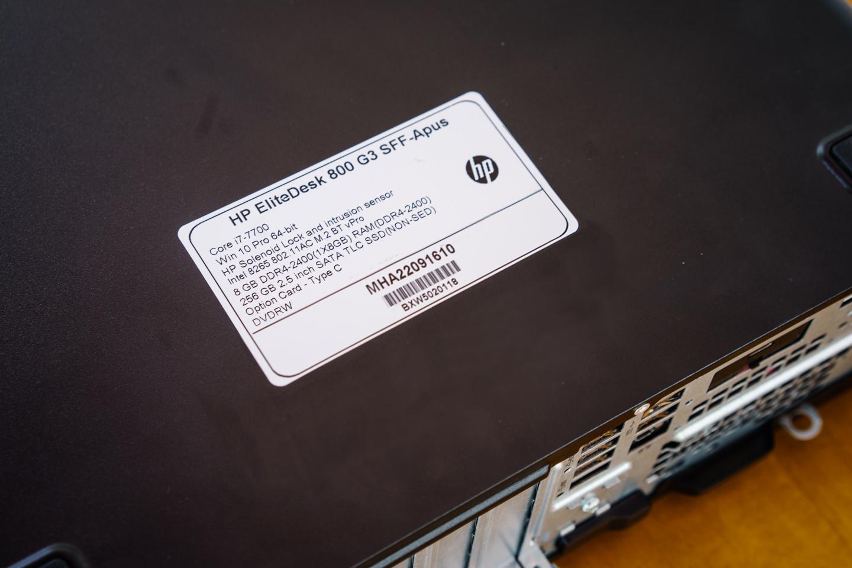 Đánh giá HP EliteDesk 800 G3 SFF: PC cấu hình mạnh, siêu bảo mật dành cho đối tượng doanh nghiệp