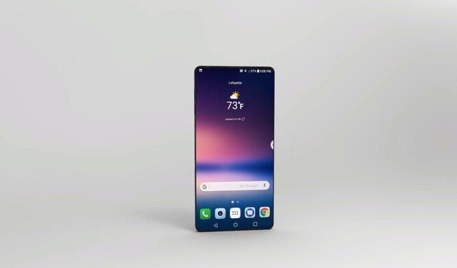 Ngắm ý tưởng LG G7 đẹp xuất sắc: màn hình tràn viền 5.8 inch, RAM 6GB, camera kép 16MP