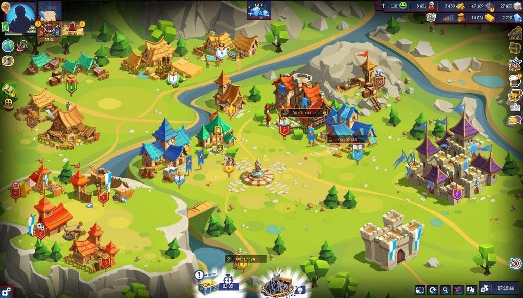 Game chiến thuật xây thành Game of Emperors đã chính thức có mặt trên Windows Store