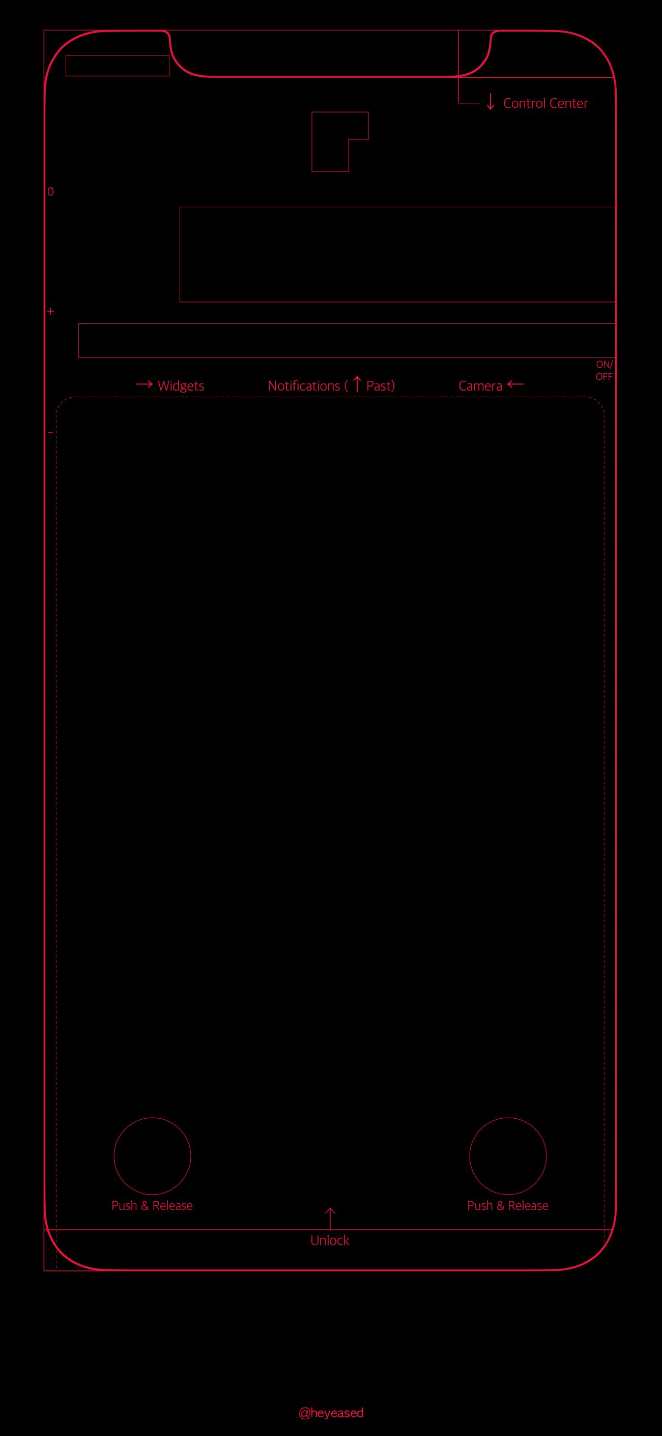 Mời tải bộ ảnh nền theo phong cách bản vẽ Blueprint độc đáo từ iPhone 5 đến iPhone X