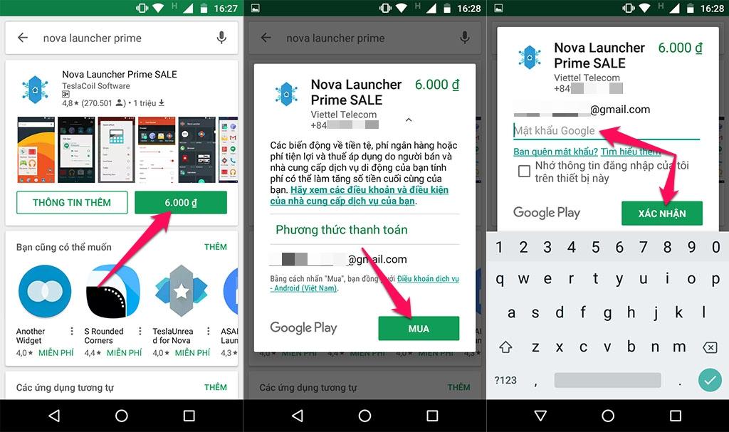 Nhanh tay tải về Nova Launcher Prime với mức giá