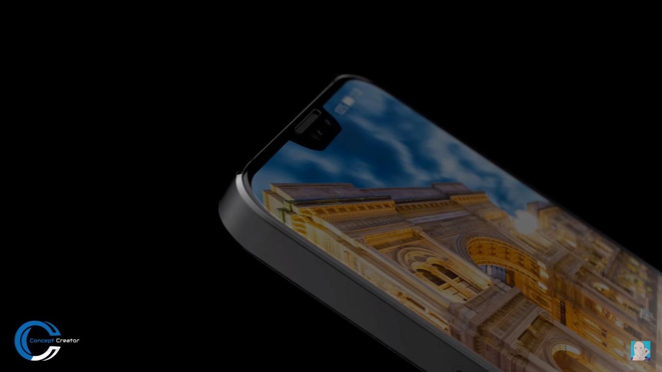 Cùng ngắm concept Huawei P11 với viền bezel siêu mỏng và phần