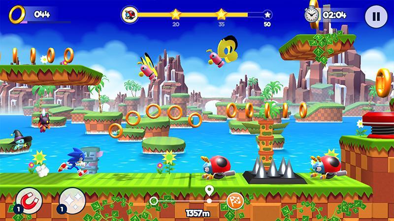 [Android/iOS] Sonic   Runners Adventure vừa được Gameloft phát hành trên mobile, hỗ trợ cả    tiếng Việt