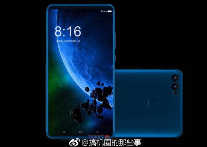 Mi Max 3 sẽ được Xiaomi trang bị màn hình lên tới 7 inch, tỷ lệ 18:9 và camera kép?