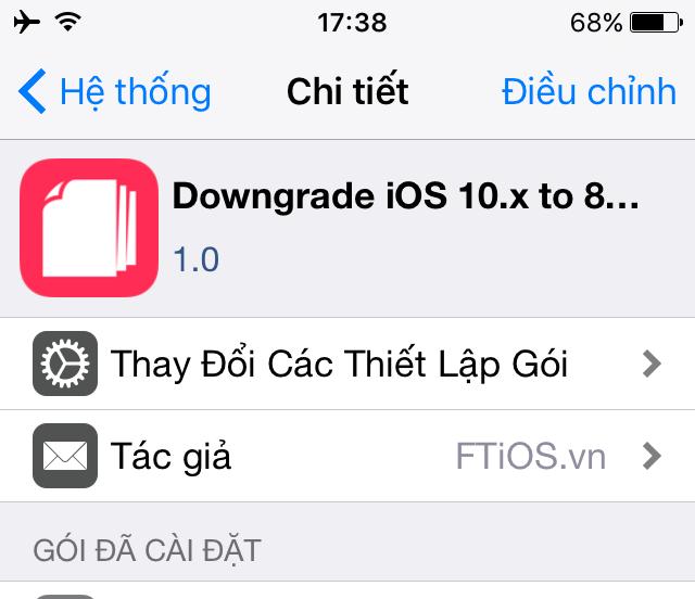Hạ cấp iPhone/iPad xuống iOS 8.4.1 cự kỳ đơn giản chỉ với 1 cú click