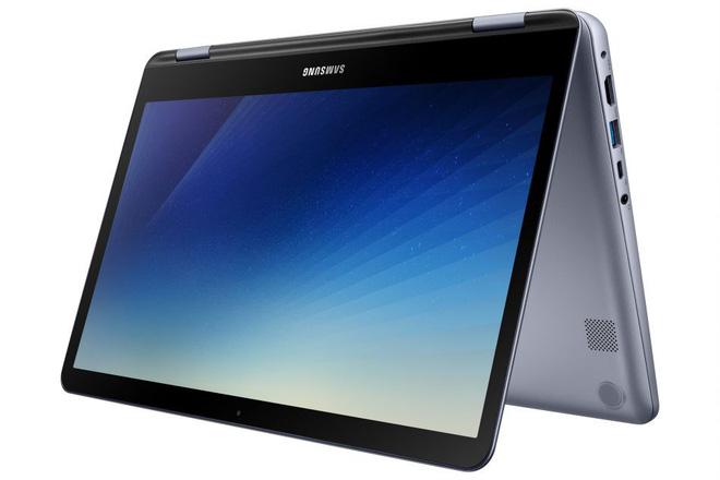 [CES 2018] Samsung chính thức ra mắt Notebook 7 Spin (2018): chip Core i5, RAM 8GB, ổ SSD 256GB, pin đủ dùng trong một ngày và hỗ trợ bút cảm ứng