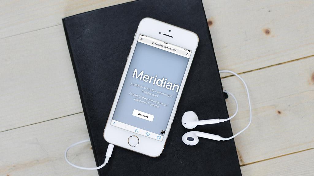 Meridian: Tool Jailbreak iOS 10.0 - 10.3.3 dành cho thiết bị sử dụng chip 64-bit chính thức phát hành