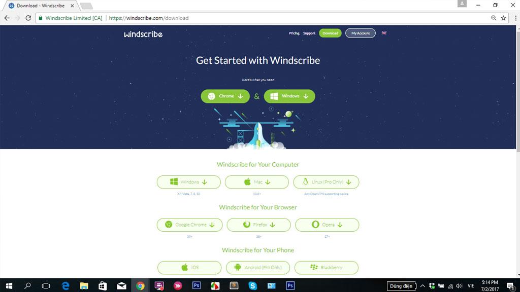 Windscribe VPN: Phần mềm lướt web ẩn danh tốt nhất cho Windows và Mac đang miễn phí bản quyền, trị giá 90USD