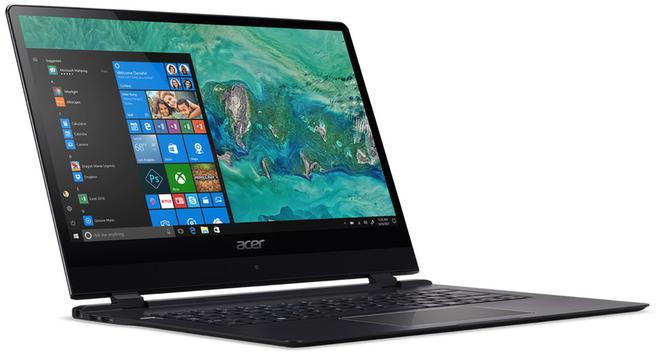 [CES 2018] Acer cập nhật loạt máy tính tầm trung, Swift 7 vẫn là chiếc laptop mỏng nhất thế giới
