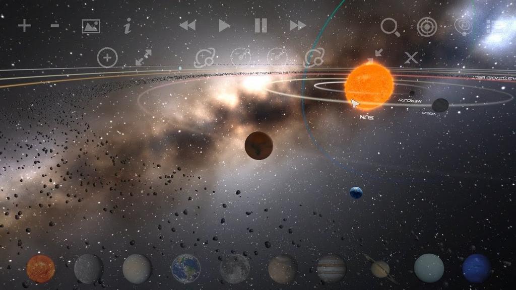 [Android/iOS] Planetarium 2 Zen Odyssey - Game miễn phí cho phép bạn khám phá vũ trụ bao   la