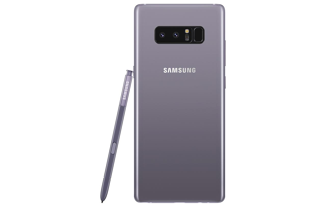 Samsung chính thức giới thiệu Galaxy Note 8 phiên bản Tím Khói tại Việt Nam, giá không đổi
