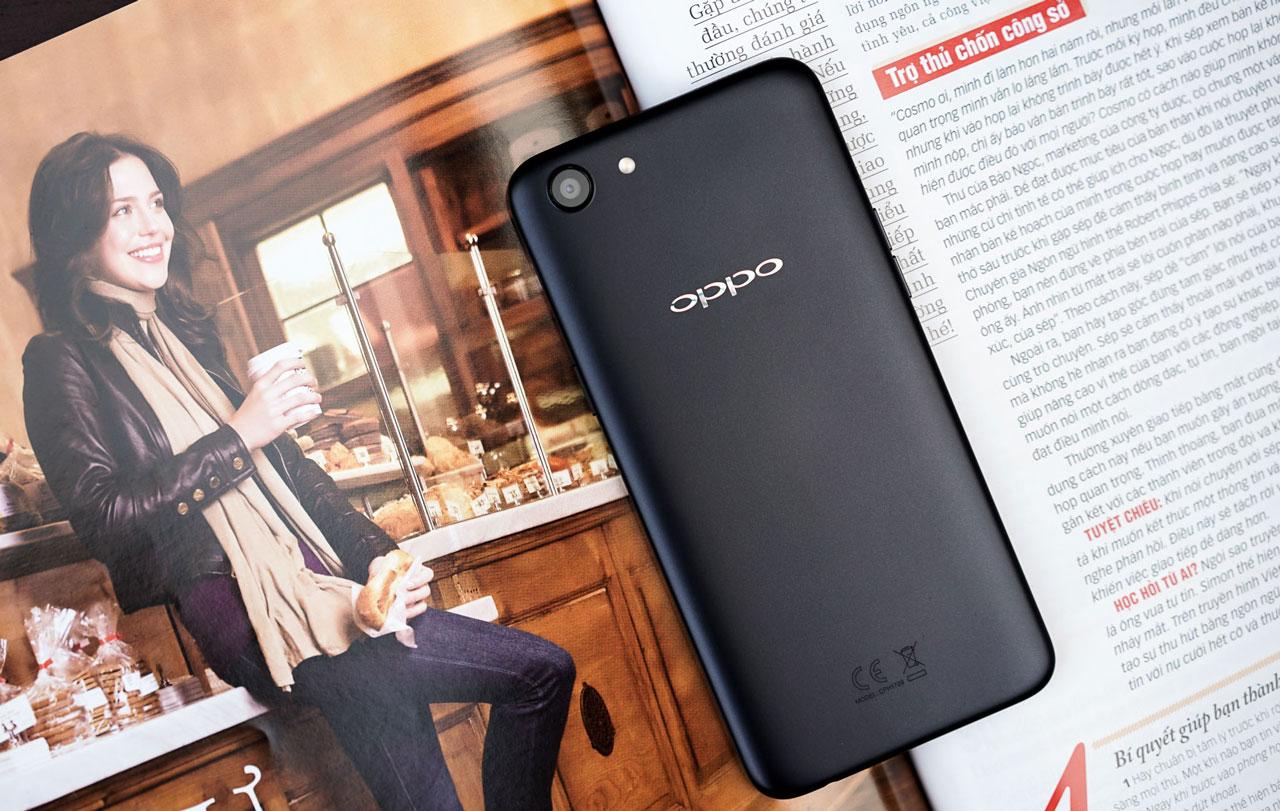 Mở hộp trên tay nhanh OPPO A83: Điện thoại giá rẻ với màn hình 18:9, cấu hình tốt, camera làm đẹp bằng AI