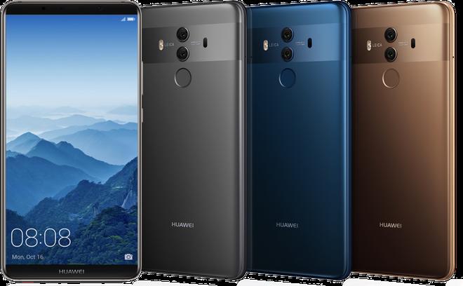 Huawei Mate 10 Pro được bán chính thức tại Mỹ từ tháng 2, mời nữ diễn viên Gal Gadot làm Giám đốc Trải nghiệm