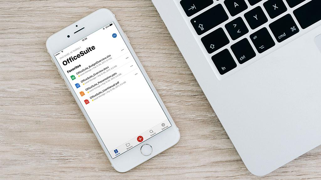 Nhanh tay tải ngay phiên bản OfficeSuite PRO trị giá 14,99 USD đang được miễn phí trên App Store