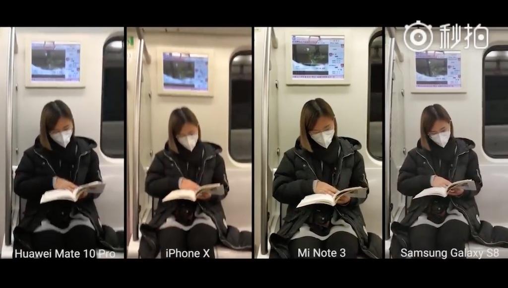 IPhone X quay video rung như động đất khi trên tàu, kém xa so với Mi Note 3 và Galaxy S8
