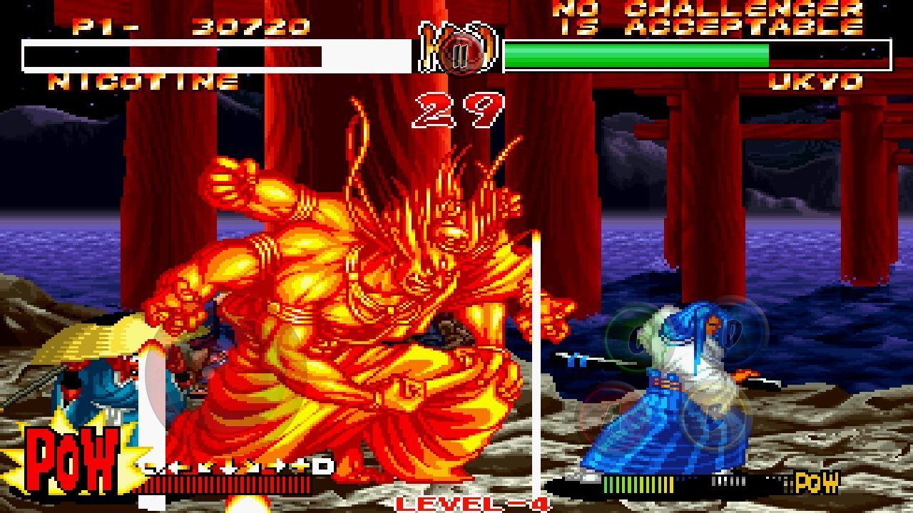 Samurai Shodown II:  Game đồ họa 8 bit trên mobile, giúp bạn ôn lại ký ức một thời tuổi thơ
