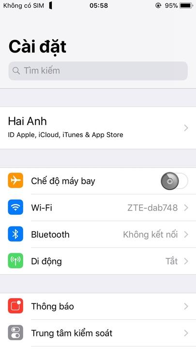 Hướng dẫn cài theme trên iPhone/iPad thông qua ứng dụng nền Anemone sau khi jailbreak iOS 11 bằng Electra