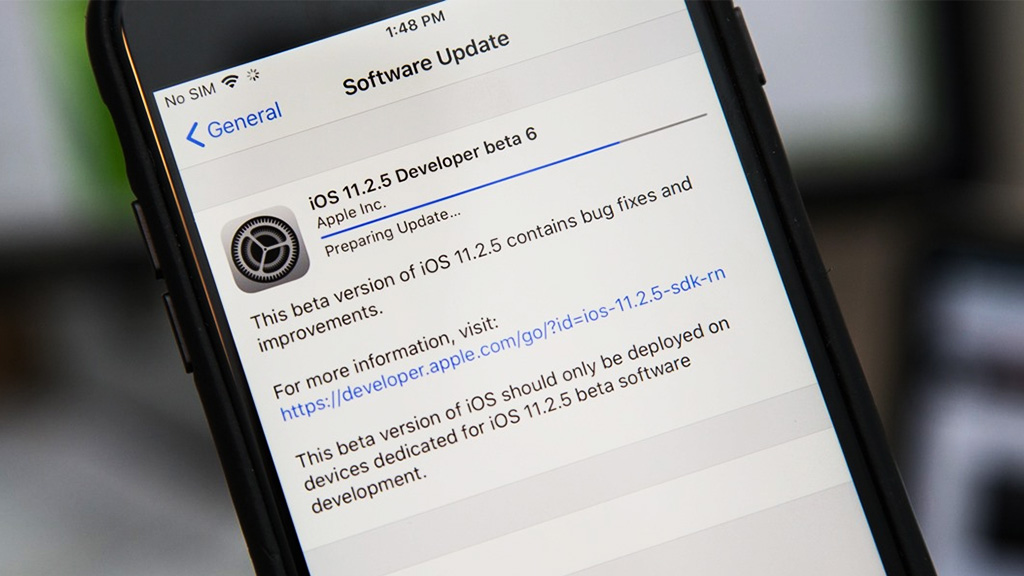Apple phát hành iOS 11.2.5 beta 6: Sửa lỗi còn tồn đọng, khắc phục một số vấn đề trên iPhone X và vá lỗi gây treo máy trong iMessage