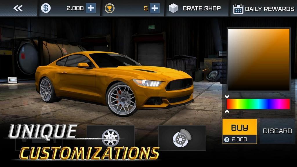 Drag Sim 2018: Game  mô phỏng đua xe miễn phí có cơ chế sang số như thật trên Android và iOS